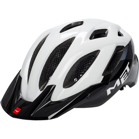 MET Crossover Casco, white/black